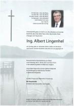 Albert Lingenhel, gestorben am 27.12.2020