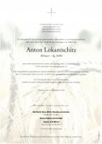 Anton Lokantschitz, gestorben am 12.12.2020