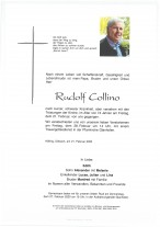 Rudolf Collino, gestorben am 21.02.2020
