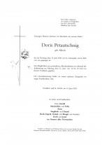 Doris Petautschnig, gestorben am 15.06.2021