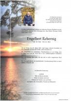 Engelbert Rebernig, gestorben am 29.01.2021