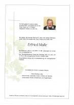 Erfried Malle, gestorben am 02.06.2021