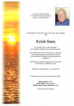Erich Siutz, gestorben am 26.04.2021