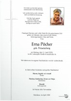 Erna Pöcher, gestorben am 13.04.2020