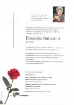 Ernestine Buttazoni, gestorben am19.11.2020