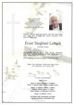 Ernst Siegfried Leitgeb, gestorben am 02.01.2021