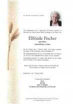 Elfriede Fischer, Geschäftsfrau i.R., gestorben am 07.02.2020