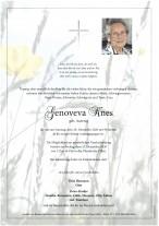 Genoveva Knes, gestorben am 20.12.2020