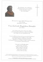 Gertrude Magdalena Stampfer