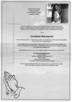 Gordana Marojevic`, gestorben am 17.05.2021