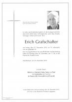 Erich Grafschafter, gestorben am 20.12.2019
