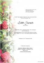 Edith Gursch, gestorben am 27.09.2020