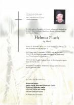 Helmut Pluch,gestorben 19.11.2020