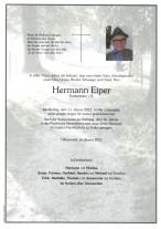 Hermann Eiper, gestorben am 11.01.2021