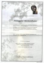 Hildegard Michenthaler, gestorben am 21.09.2021