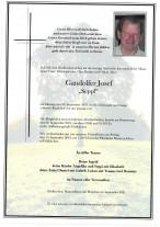 Josef Gandolfer, gestorben am 06.09.2021