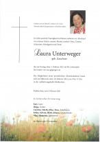 Laura Unterweger, gestorben am 05.02.2021