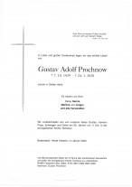 Gustav Adolf Prochnov, gestorben am 24.01.1929