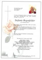 Stefanie Regenfelder, gestorben am 29.01.2020