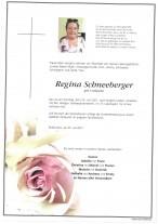 Regina Schneeberger, gestorben am 25.07.2021