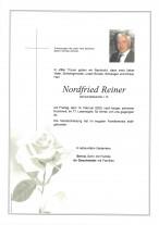 Nordfried Reiner, Gemeindebeamter i.R., gestorben am 14.02.2020