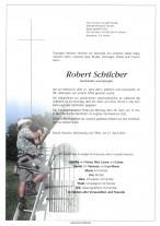 Robert Schilcher,gestorben am 21.04.2021