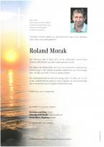 Roland Morak, gestorben am 09.03.2021