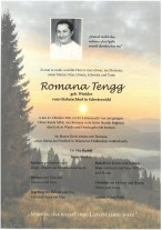 Romana Tengg, gestorben am 23.10.2021