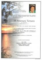 SR Annemarie Tarmann, Dir. i. R., gestorben am 12.02.2020