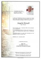 Angela Strauß, gestorben am 01.11.2020
