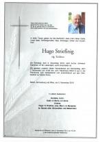 Hugo Strießnig, verstorben am 2.11.2019