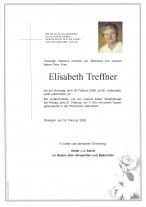 Elisabeth Treffner, gestorben am 18.02.2020
